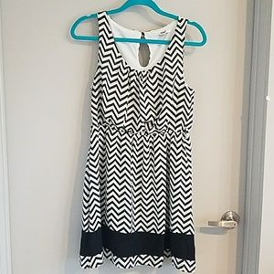 *3/$15* Chevron Dress